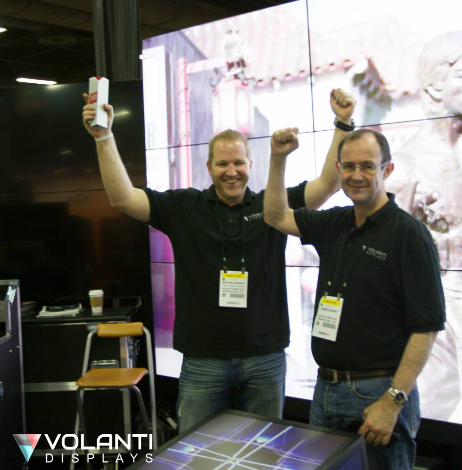 Buyers Choice Award for Volanti's Forza Mobile Video Wall