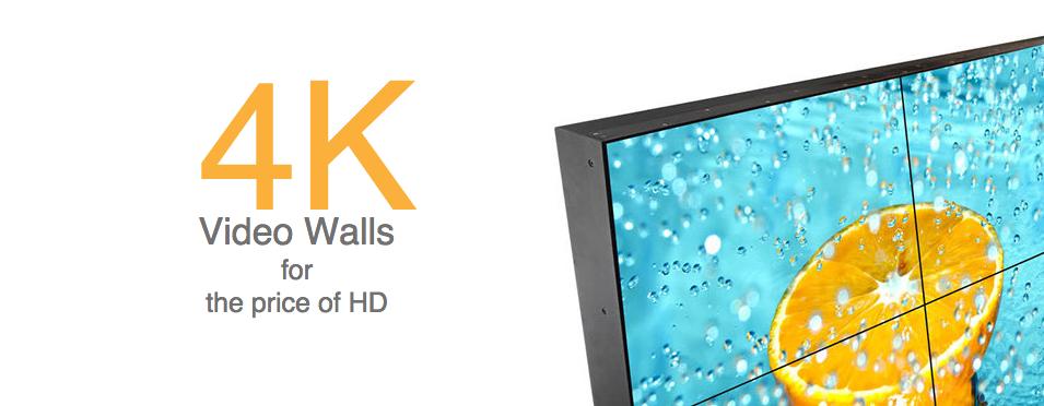 Volanti Displays 4k Video Wall