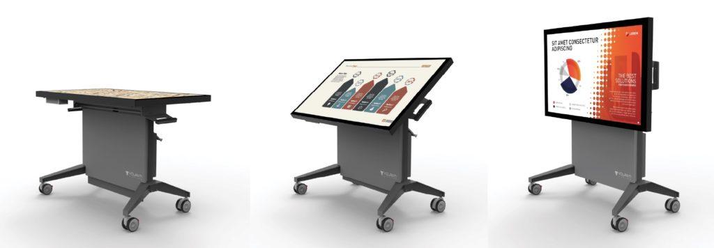 Volanti lift tilt touch screen
