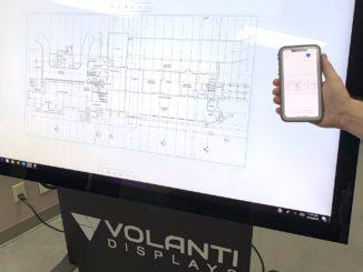 Volanti touch whiteboard
